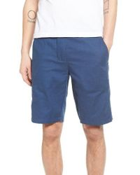 Ezekiel | Blue Reversible Walk Shorts for Men | Lyst