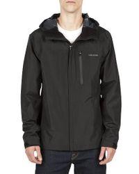 Volcom | Black Water Resistant Zip Jacket for Men | Lyst
