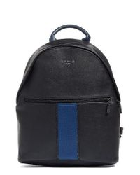 Ted Baker - Black Faux Leather Backpack - Lyst