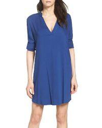 BB Dakota | Blue Shirtdress | Lyst