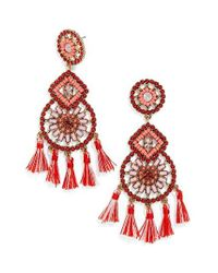 BaubleBar | Pink Noelani Drop Earrings | Lyst