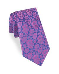 Ted Baker | Multicolor Picadilly Floral Silk Tie for Men | Lyst