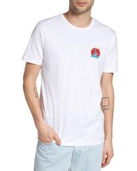 Altru | White Delicious Ramen Graphic T-shirt for Men | Lyst