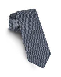 Ted Baker | Black Solid Skinny Silk Tie for Men | Lyst