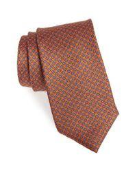Bonobos - Orange Bay Floral Silk Tie for Men - Lyst