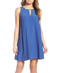BB Dakota - Blue Phoebe Shift Dress - Lyst