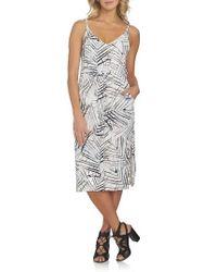 1.STATE | Multicolor Midi Dress | Lyst