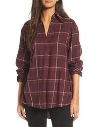 PAIGE | Multicolor Joss Plaid Shirt | Lyst