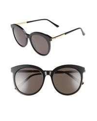 4308bec43e9 Lyst - Gentle Monster Lovesome Tale 56mm Sunglasses in Black