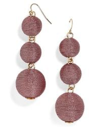 BaubleBar - Multicolor Shimmer Crispin Drop Earrings - Lyst