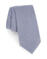 Calibrate | Blue Angora & Silk Tie for Men | Lyst