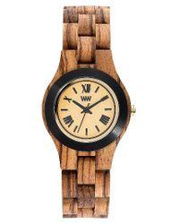 WeWood | Multicolor Criss Wood Bracelet Watch | Lyst