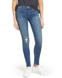 Mcguire   Blue Newton Ankle Skinny Jeans   Lyst