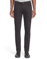 Acne | Black Slim Straight Jeans for Men | Lyst