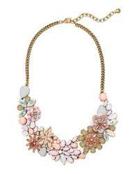 BaubleBar   Pink Ariana Bib Necklace   Lyst