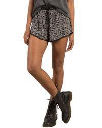 Volcom | Black Simple Things Shorts | Lyst