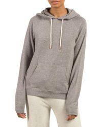 Volcom | Gray Lil Fleece Pullover | Lyst