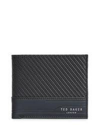 Ted Baker | Black Innova Wallet for Men | Lyst