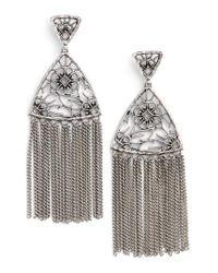 Kendra Scott | Metallic Ana Drop Earrings | Lyst