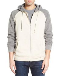 Threads For Thought | Gray Raglan Hoodie for Men | Lyst