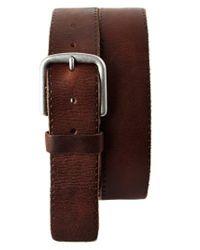 Trafalgar - Brown 'winslow' Leather Belt for Men - Lyst