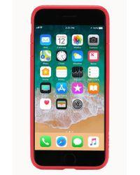 Incase - Red Frame Iphone 7 Plus/8 Plus Case - Lyst