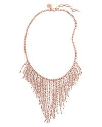 Loren Hope - Pink Joanna Frontal Necklace - Lyst