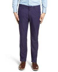 Peter Millar - Blue Eb66 Twill Performance Pants for Men - Lyst
