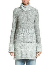 Missoni - Multicolor Tunic Sweater - Lyst