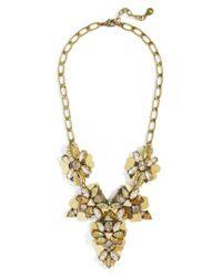 BaubleBar | Metallic Duchess Statement Necklace | Lyst