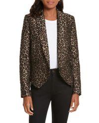 Smythe | Multicolor Anytime Leopard Jacquard Blazer | Lyst