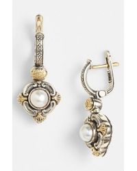 Konstantino - Metallic 'hermione' Pearl Drop Earrings - Lyst