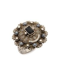 Alexander McQueen | Metallic Jeweled Ring | Lyst