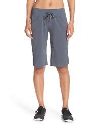 Zella | Gray 'city' Shorts | Lyst