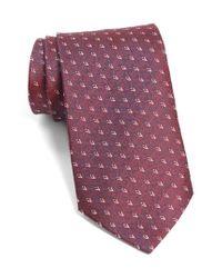 John Varvatos | Multicolor John Varvatos Star Usa Geometric Silk Tie for Men | Lyst
