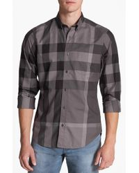 Burberry | Multicolor Fred Check Sport Shirt for Men | Lyst