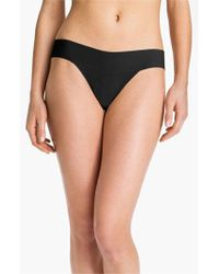 Hanky Panky | Black 'bare - Eve' Natural Rise Thong | Lyst