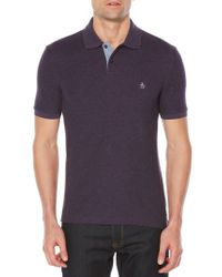 Original Penguin | Purple Daddy-o Pique Polo for Men | Lyst
