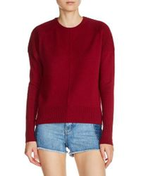Maje | Red Cashmere Sweater | Lyst