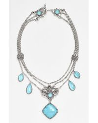 Konstantino | Metallic 'aegean' Frontal Necklace | Lyst