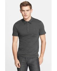Versace | Black 'medusa' Polo for Men | Lyst