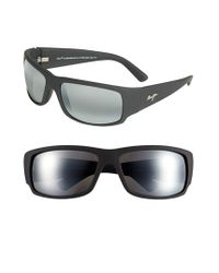 Maui Jim | Black 'world Cup - Polarizedplus2' 64mm Sunglasses for Men | Lyst