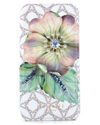 Ted Baker - Green Mavis Iphone 7 & 7 Plus Mirror Folio Case - Lyst