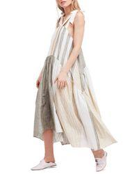 Free People - White Joyel Dress - Lyst