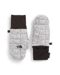 The North Face - Black Thermoball(tm) Mittens - Lyst