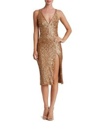Dress the Population | Multicolor Camilla Sequin Dress | Lyst