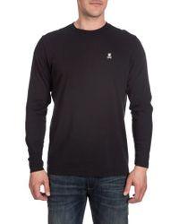 Psycho Bunny - Black Crewneck T-shirt for Men - Lyst