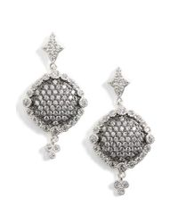 Freida Rothman - Metallic Disc Drop Earrings - Lyst