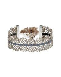 Chan Luu - Metallic Lace Bracelet - Lyst
