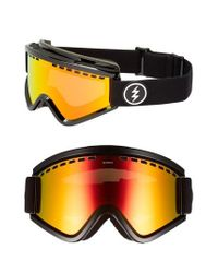Electric - Egv Snow Goggles - Gloss Black/ Red Chrome - Lyst